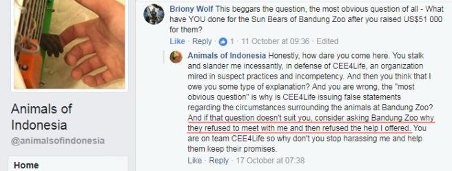 07 Rebecca Rodiguez Bandung Zoo fraud